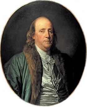 Benjamin Franklin par Greuze bis