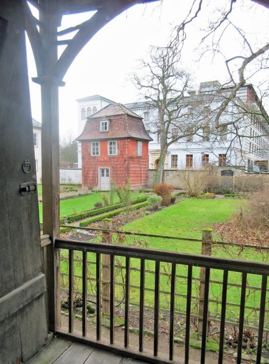 11 Maison de Goethe côté jardin