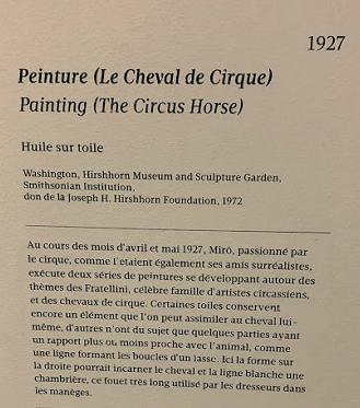capture le cheval et le cirque
