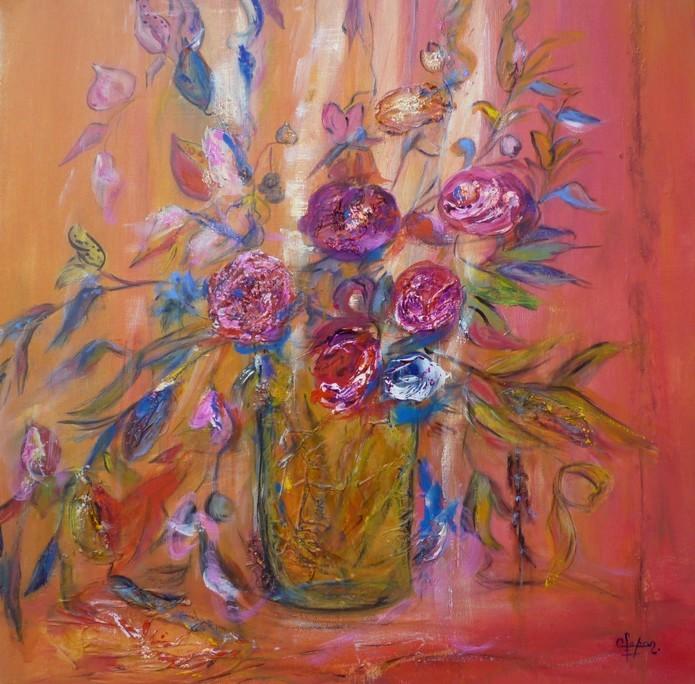 Fleurs en vaseD