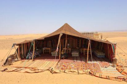 Tente de nomades