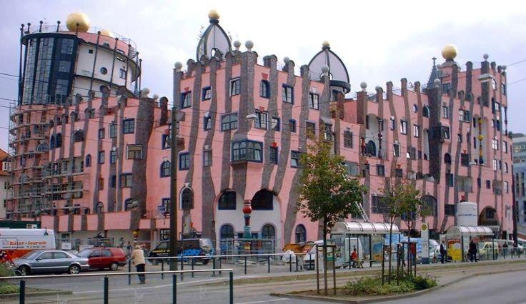 Citadelle verte de Magdebourg