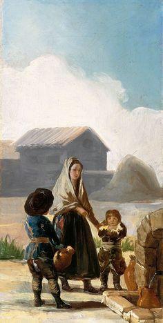 La mère et les deux enfants
