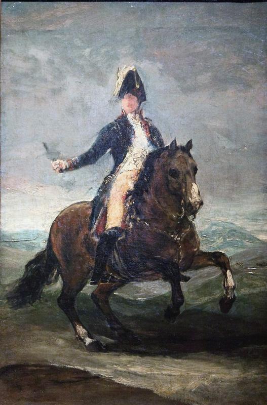 Portrait équestre de Ferdinand VII (esquisse)
